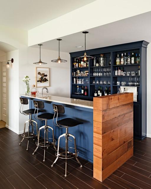 Basement Bar Decor Ideas: ไอเดียการตกแต่งเคาน์เตอร์บาร์