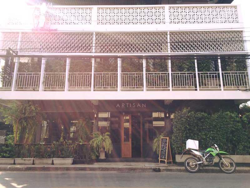 ร้าน Artisan café at oxotel